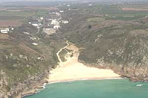 Porthcurno Valley