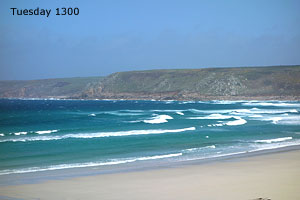 Sennen Cove Surf daily image